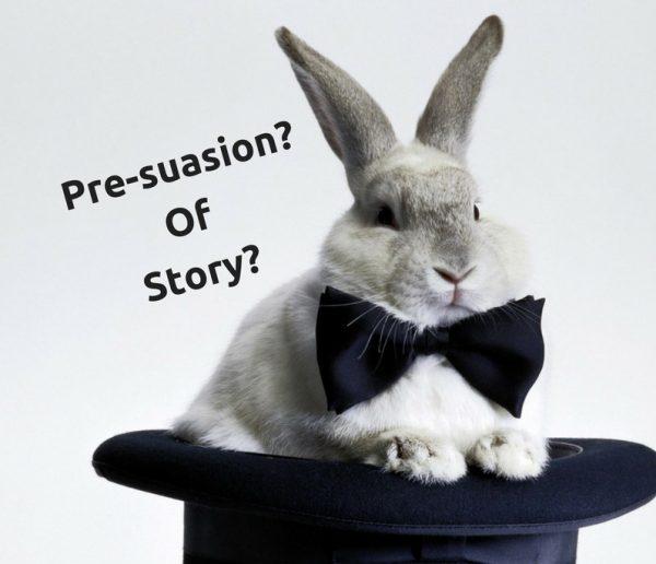 Pre-suasion is geen marketing konijn