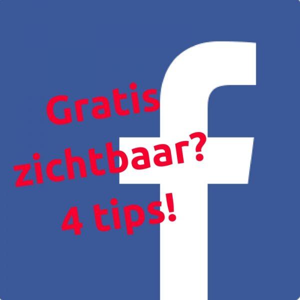 Gratis zichtbaarheid vergroten op Facebook