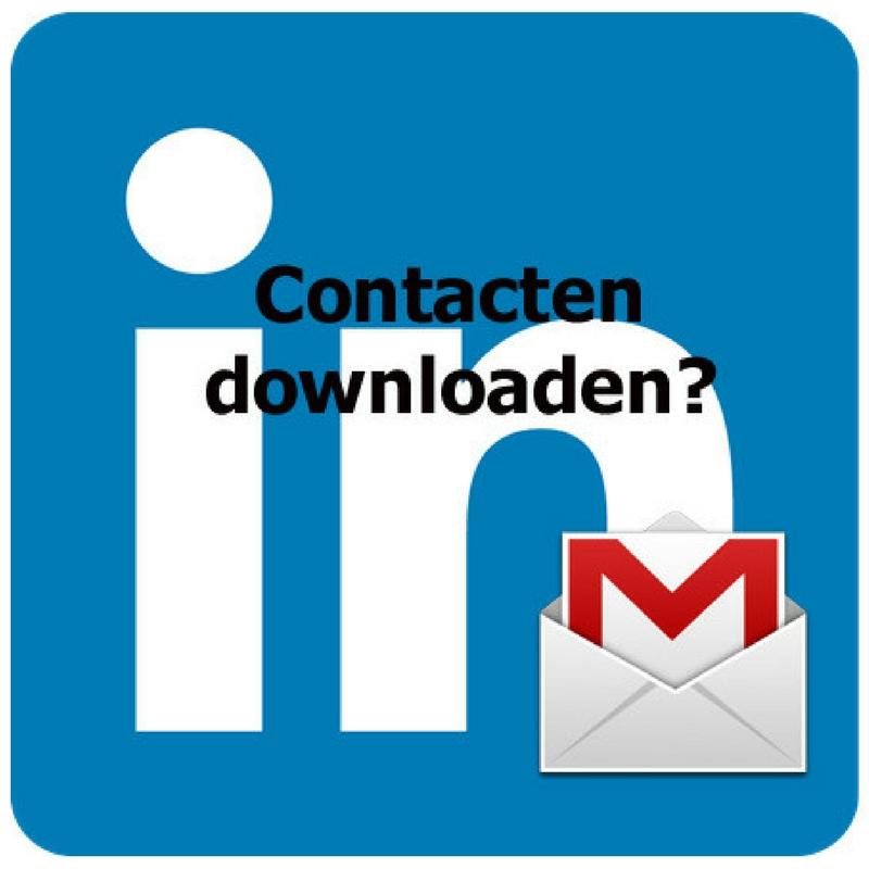 LinkedIn Contacten downloaden